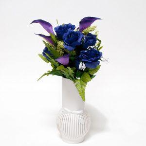 W6620 White Paper Flower Vase