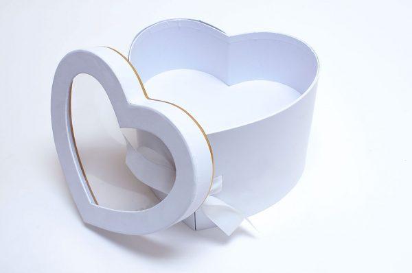 Two Tier Heart Shape Flower Box