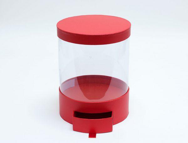 Round Clear Flower Box