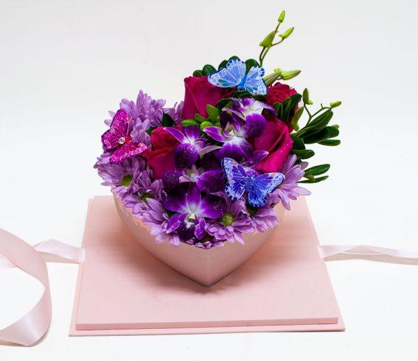 Acrylic Square Flower Box