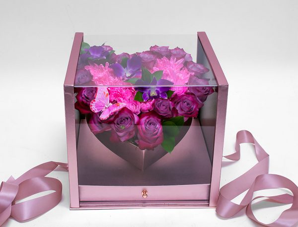 Acrylic Square Flower Box