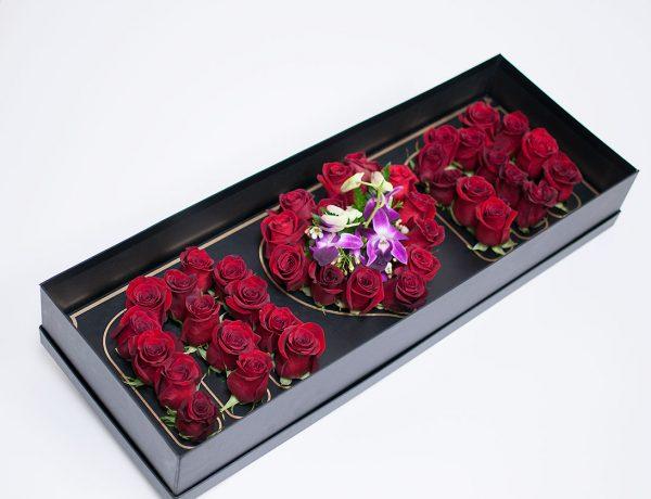 Love Mom Flower Box